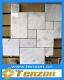 Carrara White Rectangle Mosaic