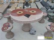 Stone Chair & Table