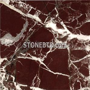 Rosso Lepanto Marble Tiles,Slabs