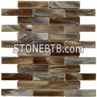 Hot Melt Glass Mosaic