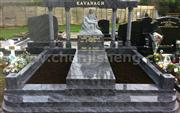 High Quality Granite Mausoleums Gravestone With Cheap Price