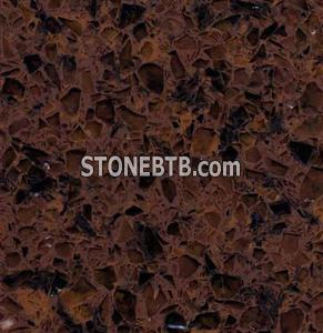 Cappuccino Engineered Quartz Stone for Kitchen Countertop,Vanity Top, Bar Top, Wall, Floor
