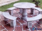 Outdoor Table,Outdoor Stone Table
