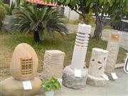 Stone Garden Lamps, Granite Garden Light