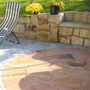 Indian Modak Sandstone Patio