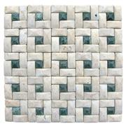 Marble and Travertine Multicolor Mosaics