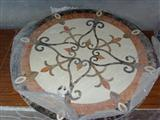 Decorative Round Marble Medallion