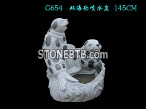 Sell Stone Dolphin Carving