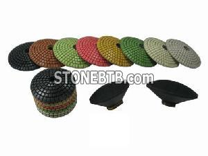 Convex Polishing Pads for Stone Industry