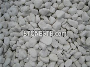 white marble pebble