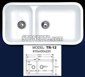 Artificial Marble Kitchen Sinks