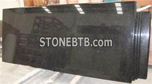 Prefab Granite Countertops, Black Galaxy Countertop