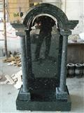 Emerald Pearl Granite Monuments, Tombstones