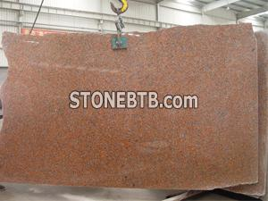 G562 Maple Red Granite Slabs