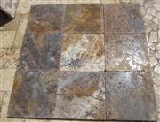 Persian Silver Travertine Antiqueted Tiles