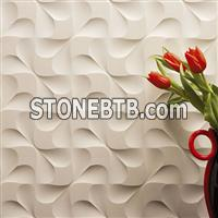 3d natural interior limestone wall finishes