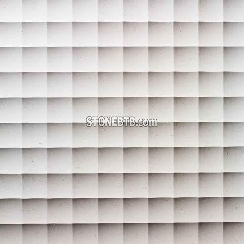 3d natural limestone wall paneling designs