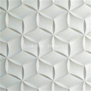 3D beige interior feature stone wall covering panel