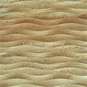 Natural Travertine 3d Feature Carved Wallart Panel
