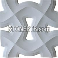 3d cnc feature screen stone wall tiles