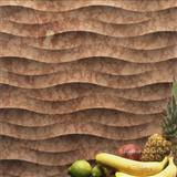 Natural decorative 3d cnc stone wall decor tile