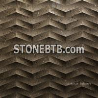 3d cnc decorative stone panels for walls