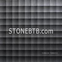 3d black stone decorative wall paneling