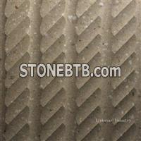 3d decorative stone wall feature design