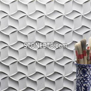 3d decorative marble feature panels for walls