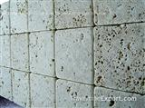 Classic Light Travertine 4x4 Tumbled