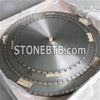 large diamond saw blade for marble stone processing
