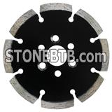 High quality sintered segmented multi tool small thin diamond dado saw blade for cutting reinforced concrete with no chipping