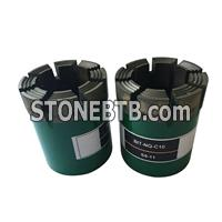 China manufacturer hard roack geological drilling impregnated nq diamond core drill bits