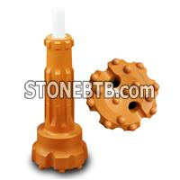 DHD 3.5 340 350 360 380 DTH rock drill bit for quarry mining water well drilling