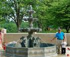 Fountains\Large Statuary Garden Fountain-2021