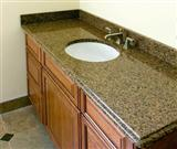 Diamond Yellow Granite Vanity Top