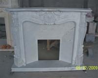 CF-40 Xiang White Jade Fireplace