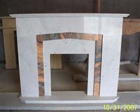 CF-42 Xiang White Jade+WanXia RedFireplace