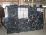 Nero Marquina with more veins