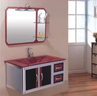 Glass Sanitary Wares- Red