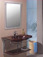 Glass Sanitary Wares- Wood Vein