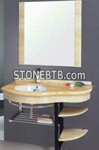 Honey onyx vanity tops