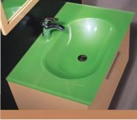 Glass Sanitary Wares- Green