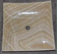 Stone basin 08-Honey onyx