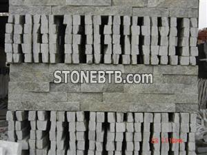 Green Quartz Culture Stone China Chitrust Slate Ledge Stacked Stone
