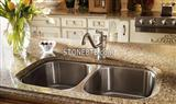 Brown quartize counter tops