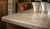 yellow quartize counter tops