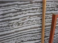 White wave marble