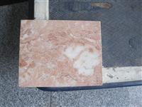 tea rose, red marble, imported marble, marble slab, marble tile