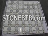 Mosaic tiles,Marble Mosaic,wall decoration panel,flooring tiles